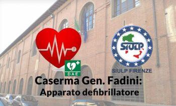Caserma Gen. Fadini: Apparato defibrillatore