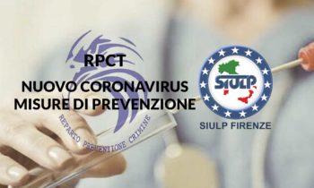RPCT: Covid19 – Nuovo Coronavirus. Misure di prevenzione urgenti.