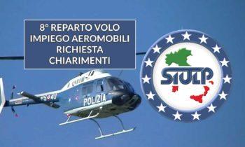 8° Reparto Volo – impiego aeromobili. Richiesta chiarimenti.