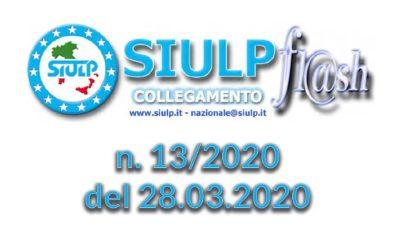 Flash 13/2020 – 28.03.2020