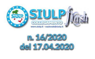 Flash 16/2020 – 17.04.2020