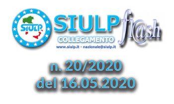 Flash 20/2020 – 16.05.2020