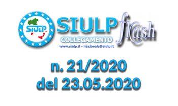 Flash 21/2020 – 23.05.2020