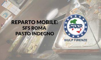 Reparto Mobile: disservizi mensa Roma