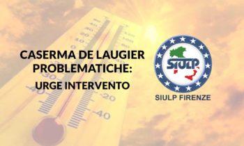 Caserma De Laugier: richiesta intervento urgente