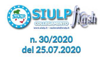 Flash 30/2020 – 25.07.2020