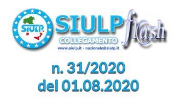 Flash 31/2020 – 01.08.2020