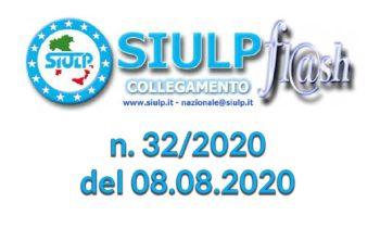 Flash 32/2020 – 08.08.2020