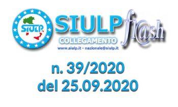 Flash 39/2020 – 25.09.2020