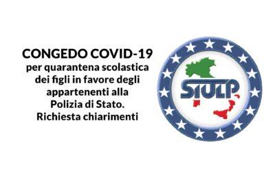 Congedo COVID-19 per quarantena scolastica dei figli: richiesta chiarimenti