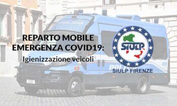 Emergenza Covid-19: sanificazione veicoli.
