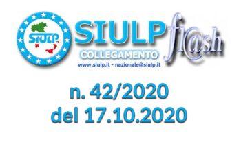 Flash 42/2020 – 17.10.2020