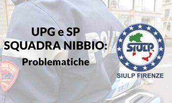 UPG e SP – Squadra Nibbio: problematiche.