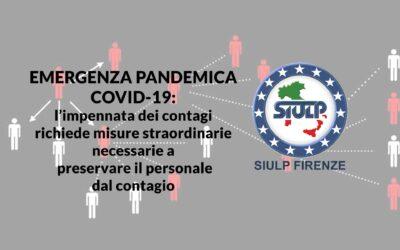 Emergenza pandemica Covid-19: tracciamento contagi.