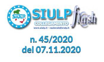 Flash 45/2020 – 07.11.2020