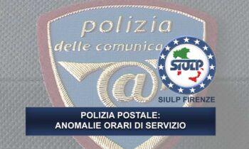Polizia Postale: anomalie turni di servizio.