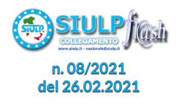 Flash 08/2021 – 26.02.2021