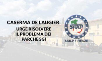 Caserma De Laugier: Parcheggi autovetture del personale.