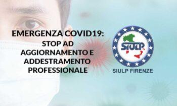 Emergenza pandemica Covid19: richiesta sospensione attività formative