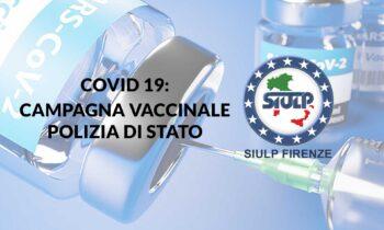 Covid19: Vaccinazione personale Polizia di Stato.