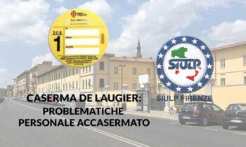 Caserma De Laugier: problematiche personale accasermato.