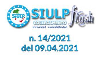 Flash 14/2021 – 09.04.2021