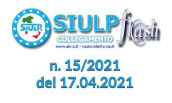 Flash 15/2021 – 17.04.2021